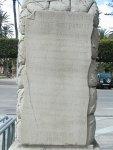piedra de Monte Arruit, 2009