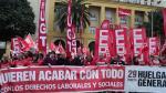 Inicio de la manifestación