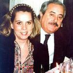 El juez Falcone y su esposa Francesca