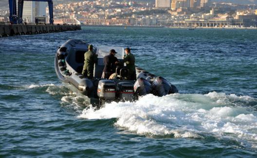 Barco Gendarmeria Real marroquí