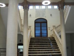 Consejería de Hacienda, vestíbulo