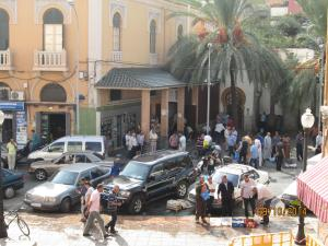 Venta ambulante en La Mezquita