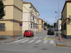 Aparcamientos en calle Pavía