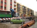 Barrio Industrial, obras