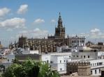 Catedral de Sevilla y alminar almohade