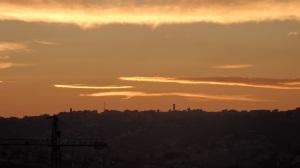 Cielos rojos en Melilla
