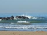 El mar contra las rocas