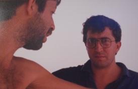 Con Fernando en Tenerife-1988