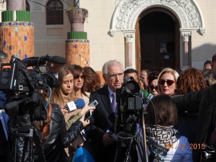 Presidente Imbroda inicia la campaña