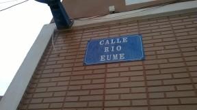 Calle río Eume