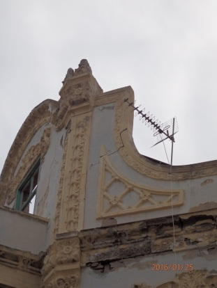 Edificio Prim, voladizo desaparecido