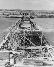 Construcción del cargadero