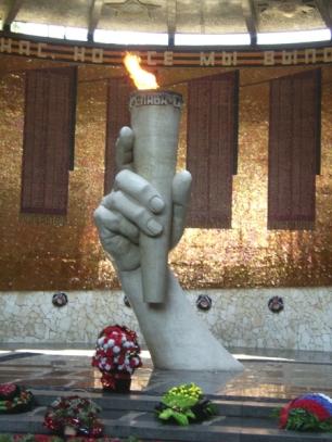 Defensores de Stalingrado, mausoleo