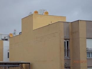 Grietas, calle Mar Chica