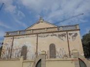 Iglesia, muro sur