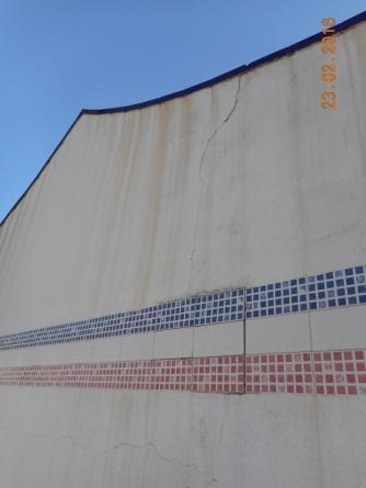Muro del Club Marítmo