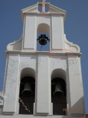 Iglesia Patronal, grietas en Junio