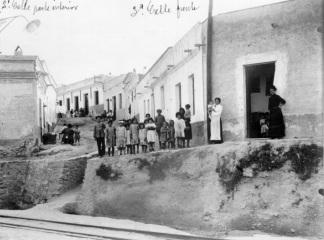 Viviendas humildes, barrio de Triana