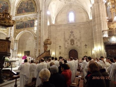 Catedral de Almería, misa crismal