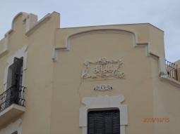 Fachada, calle Prim