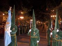 Nazarenos/as de Gracia y Esperanza, Málaga