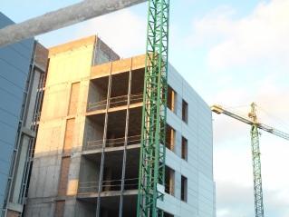 Nuevo Hospital de Melilla, obras paralizadas
