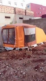 Refugios junto a las casas