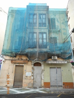 Acceso al barrio del Carmen