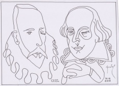 Cervantes y Shakespeare