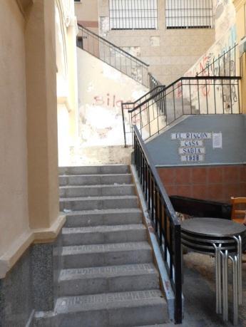 Escaleras, callejón de la sinagoga