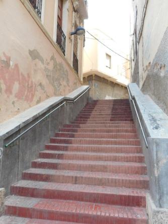 Barrio del Carmen, escalera principal