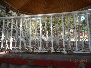 Herrumbre, templete Parque Lobera