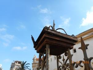 Herrumbre, verja plaza de toros