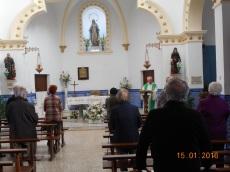 Misa diaria de monseñor Buxarrais