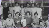 Mujeres y niñas en los toros, 1934