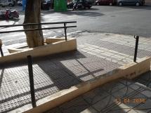 Pasamanos, calle general Aizpuru