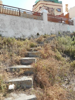 Escaleras del Monte