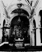 Interior y púlpito desaparecido