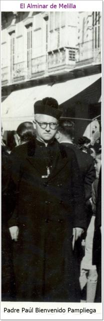 Padre Paúl Bienvenido Pampliega Tobar