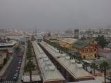 Bruma en Melilla