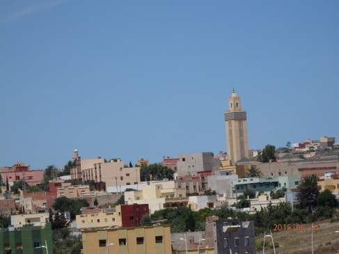Mezquita, vista desde Melilla