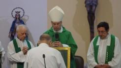 Monseñor Catalá y Vicario Roberto Rojo
