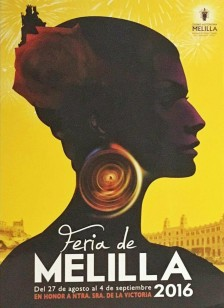 Cartel Fiestas de Melilla