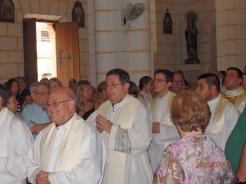 En procesión litúrgicca