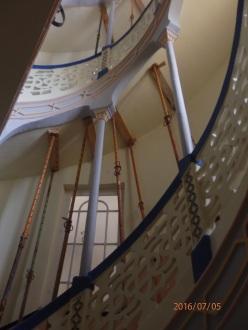 Escaleras, Casa de los Cristales