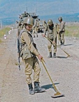 Zapadores en Afganistán
