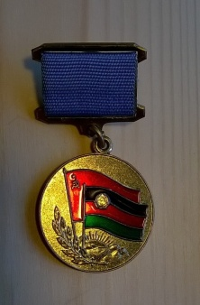 Friendly soviet-afghan medal