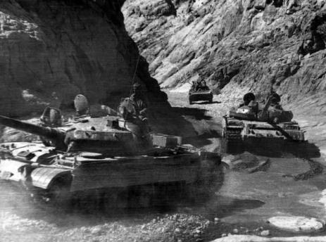 The gorge of Kandahar