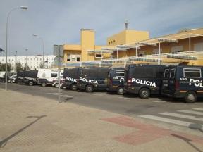 Blindaje policial en la Feria