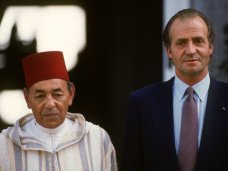Hassán II y Juan Carlos I